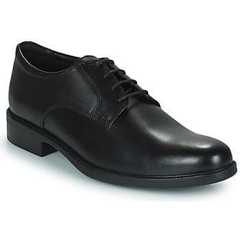 Schoenen Heren Derby Geox CARNABY D Zwart
