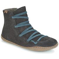 Schoenen Dames Laarzen Camper PEU CAMI Zwart
