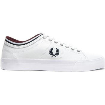 Schoenen Lage sneakers Fred Perry ZAPATILLA KENDRICK TIPPED CUFF CANVAS Blanco