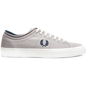 Schoenen Lage sneakers Fred Perry ZAPATILLA KENDRICK TIPPED CUFF CANVAS Gris