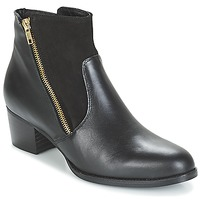 Schoenen Dames Enkellaarzen So Size JOCASSU Zwart