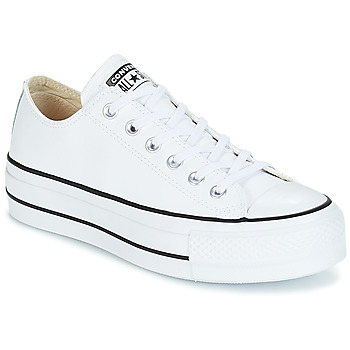 Schoenen Dames Lage sneakers Converse CHUCK TAYLOR ALL STAR LIFT CLEAN OX Wit