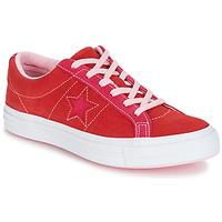 Schoenen Dames Lage sneakers Converse ONE STAR OX Rood / Roze