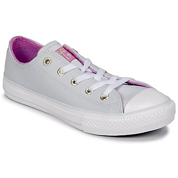 Schoenen Meisjes Hoge sneakers Converse CHUCK TAYLOR ALL STAR HI Puur / Platinum / Fushia / Glow / Wit