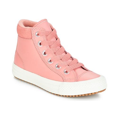 fe362fad7d2 Schoenen Meisjes Hoge sneakers Converse CHUCK TAYLOR ALL STAR PC BOOT HI  Roest / Roze /
