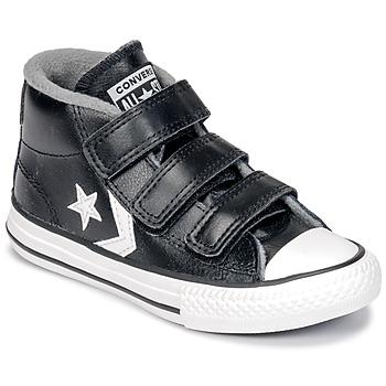 Schoenen Kinderen Hoge sneakers Converse STAR PLAYER 3V MID Zwart / Vintage / Wit