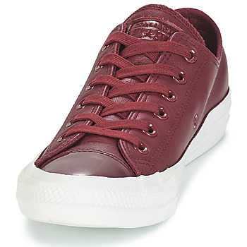 7eee2c4db74 Schoenen Dames Lage sneakers Converse CHUCK TAYLOR ALL STAR LEATHER OX  Bordeau delicaat