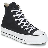 Schoenen Dames Hoge sneakers Converse CHUCK TAYLOR ALL STAR LIFT CANVAS HI Zwart