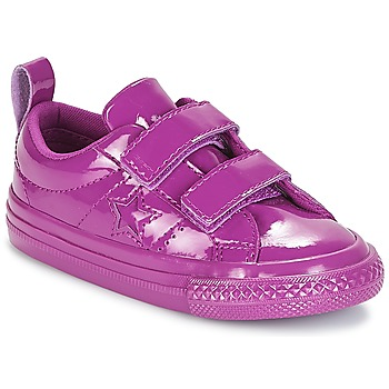 Schoenen Meisjes Lage sneakers Converse ONE STAR 2V SYNTHETIC OX Violet