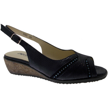 Schoenen Dames Sandalen / Open schoenen Melluso MET425bl blu