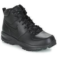 Schoenen Heren Hoge sneakers Nike MANOA LEATHER BOOT Zwart