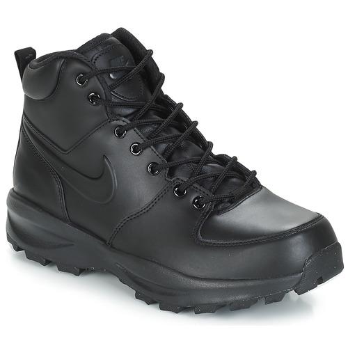 meet b5b82 82253 Schoenen Heren Laarzen Nike MANOA LEATHER BOOT Zwart