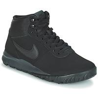 Schoenen Heren Laarzen Nike HOODLAND SUEDE Zwart