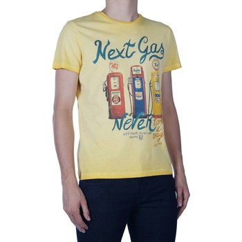 Textiel Heren T-shirts korte mouwen Take A Way T-shirt yellow Geel