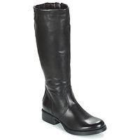 Schoenen Dames Hoge laarzen Dream in Green ACHMED Zwart
