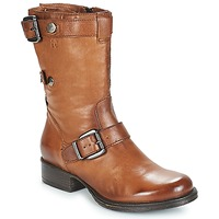 Schoenen Dames Laarzen Dream in Green NARAMEL Bruin