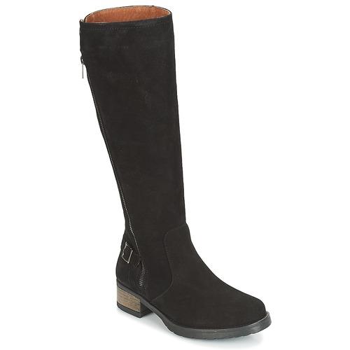 Schoenen Dames Hoge laarzen Dream in Green JOFORTA Zwart