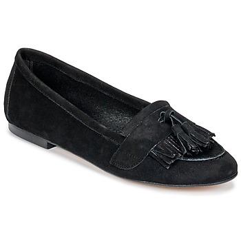 Schoenen Dames Mocassins Betty London JAPUTO Zwart