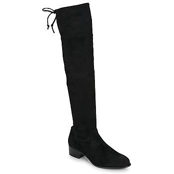 Schoenen Dames Lieslaarzen Betty London JAZUMI Zwart
