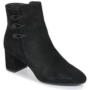 Schoenen Dames Enkellaarzen Betty London JOYE Zwart