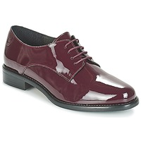 Schoenen Dames Derby Betty London CAXO Bordeau