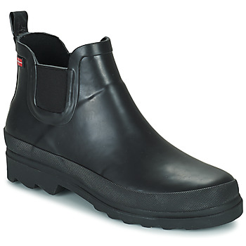 Schoenen Dames Regenlaarzen Sanita FELICIA Zwart