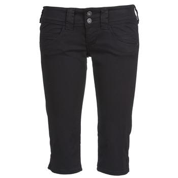 Textiel Dames Korte broeken Pepe jeans VENUS CROP Zwart