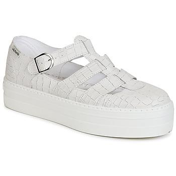 Schoenen Dames Sandalen / Open schoenen Victoria SANDALIA PIEL GRABADA COCO Wit