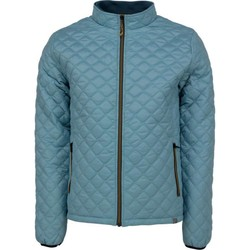 Textiel Heren Dons gevoerde jassen No Excess Jacket, short fit, fancy quilted ny dk seagreen Groen