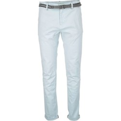 Textiel Heren 5 zakken broeken No Excess Pant, slim fit chino, gd stretch tw sky Blauw