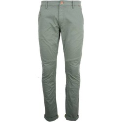 Textiel Heren 5 zakken broeken No Excess Pant, slimfit 711, stretch, length steel Groen