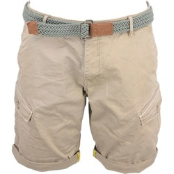 Textiel Heren Korte broeken / Bermuda's No Excess Short, garm.pigm dyed, stretch + be khaki Beige