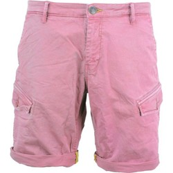 Textiel Heren Korte broeken / Bermuda's No Excess Short, garm.pigm dyed, stretch old pink Roze