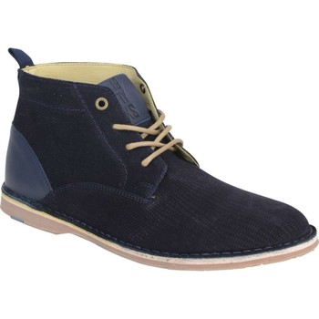 Schoenen Heren Laarzen No Excess Shoes, real leather, boot liguana l night Blauw