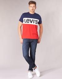 Textiel Heren Skinny jeans Levi's 511 SLIM FIT  zebroid / Adapt