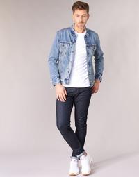 Textiel Heren Skinny jeans Levi's 512 SLIM TAPER FIT Rock / Cod