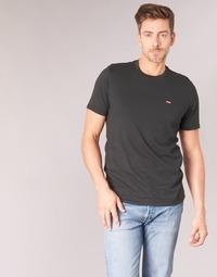 Textiel Heren T-shirts korte mouwen Levi's SS ORIGINAL HM TEE Zwart