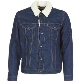 Textiel Heren Spijker jassen Levi's TYPE 3 SHERPA TRUCKER Rockridge / Trucker
