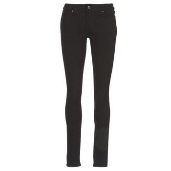 Textiel Dames Skinny Jeans Levi's 711 SKINNY Zwart