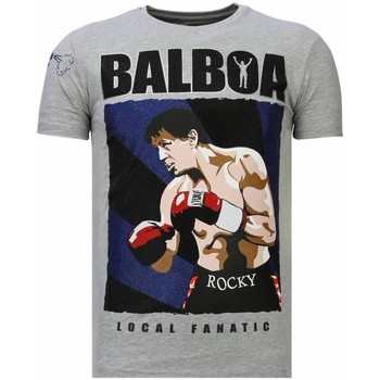 Textiel Heren T-shirts korte mouwen Local Fanatic Balboa - Rhinestone T-shirt 35