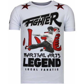 Textiel Heren T-shirts korte mouwen Local Fanatic Fighter Legend - Rhinestone T-shirt 1