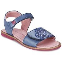 Schoenen Meisjes Sandalen / Open schoenen Agatha Ruiz de la Prada MISS PONZA Blauw
