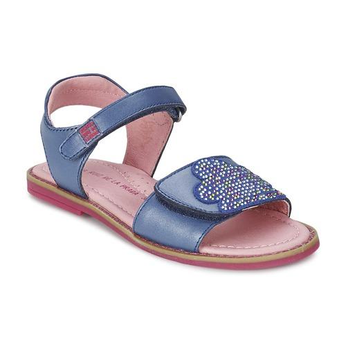 fbfea045ad8 Schoenen Meisjes Sandalen / Open schoenen Agatha Ruiz de la Prada MISS  PONZA Blauw