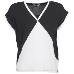 Textiel Dames T-shirts korte mouwen Nikita NEWSON Zwart / Wit