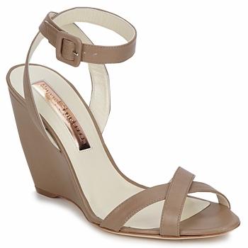 Schoenen Dames Sandalen / Open schoenen Rupert Sanderson ALIGHT Bruin