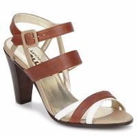 Schoenen Dames Sandalen / Open schoenen Karine Arabian JOLLY Cognac / Beige / Wit