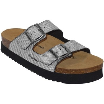 Schoenen Dames Leren slippers Pepe jeans Oban blim Grijs