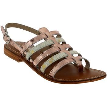 Schoenen Dames Sandalen / Open schoenen L'atelier Tropezien IL550 Lichtroze leer