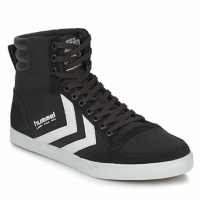 Schoenen Hoge sneakers Hummel TEN STAR HIGH CANVAS Zwart / Wit