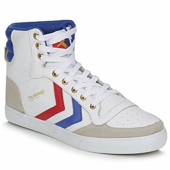 Schoenen Hoge sneakers Hummel STADIL HIGH Wit / Blauw / Rood